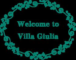 welcome to villa giulia